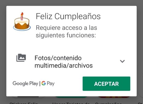 apps para tarjetas de cumple años