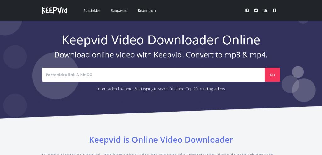 Descargar vídeos de cualquier web sin programas