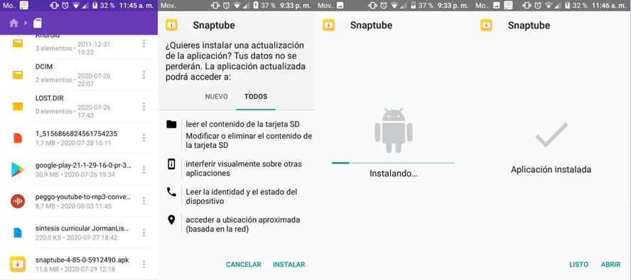 como descargar e instalar apks en Android: proceso de instalación
