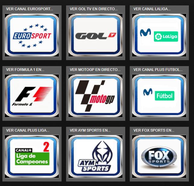 canales de deportes vercanalestv