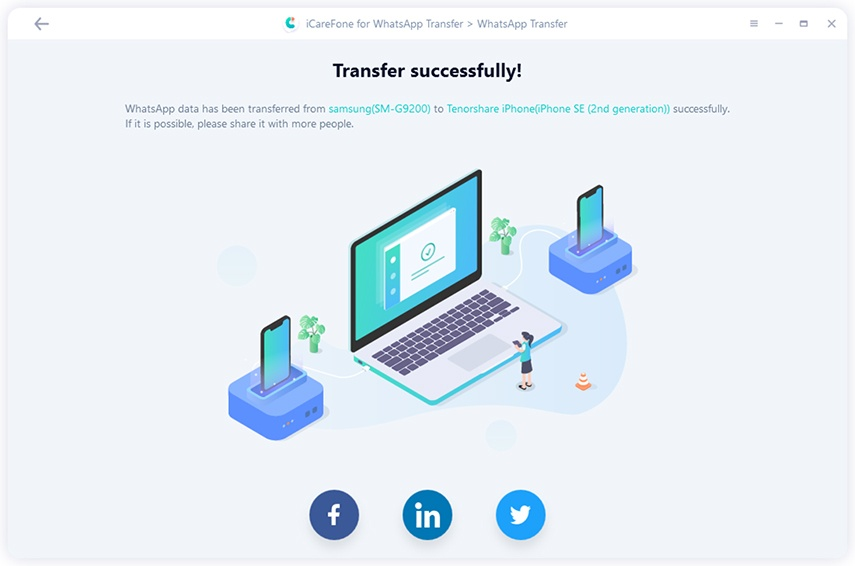 transfer whatsapp | Como pasar los datos de WhatsApp de Android a iOS
